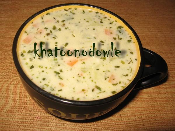 سوپ تره فرنگی 2